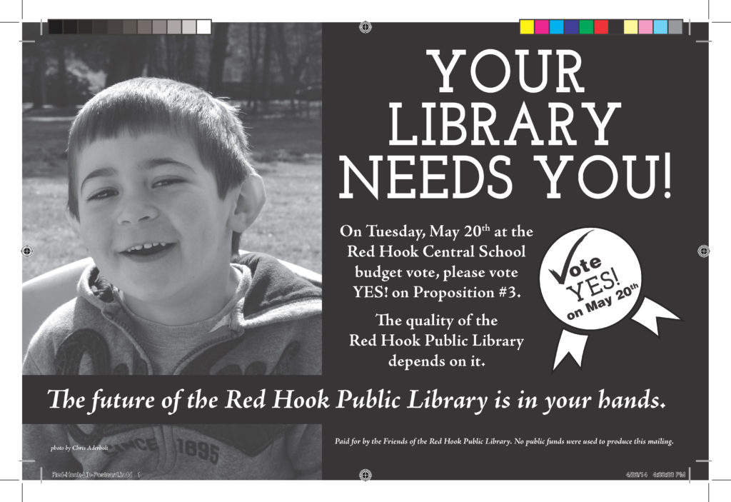 Red Hook Public Library - Postcard Front