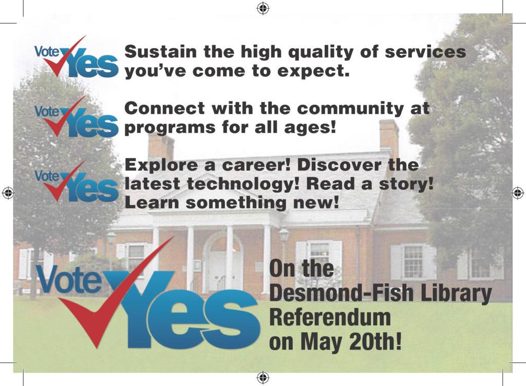 Desmond-Fish Library - Postcard Front
